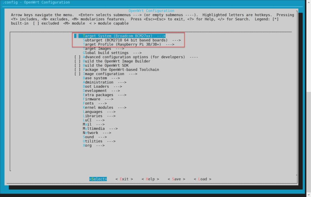 OpenWrt Configuration